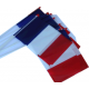 Drapeau Plastique France, lot de 10