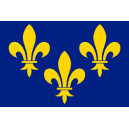 drapeau-de-table-ile-de-france