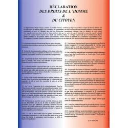 La déclaration des droits de l'homme
